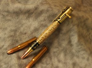 "American Eagle ""We the People"" Bolt Action Pen"