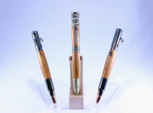 Limited Edition Pens turned in wood from the historic Fort Nelson…now known as Louisville, KY