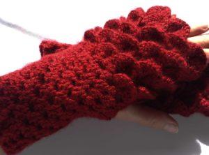 Dragon Paws Handwarmer Fingerless Gloves
