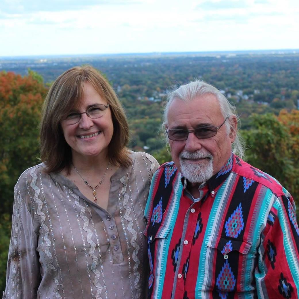 Carl Suk and Carol Drews